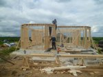 Строительство каркасного дома площадью 250 кв.м фото 1
