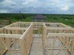 Строительство каркасного дома площадью 250 кв.м фото 3