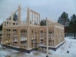 Строительство каркасного дома площадью 120 кв.м фото 14