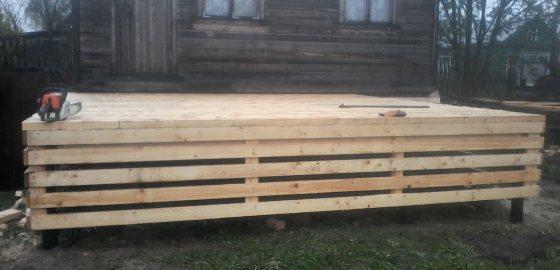 Установка винтовых свай для фундамента в Череповце