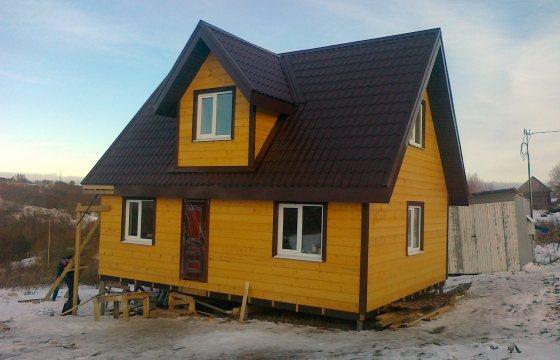 Строительство каркасного дома 6 на 9