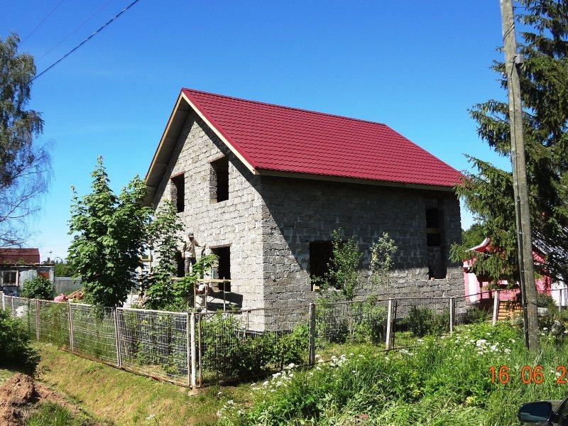 Строительство дома из арболитовых блоков в Череповецком районе