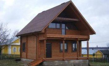 Деревянные дома и бани фото, отделка деревянных домов фото