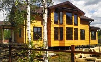 Фото строительства каркасных домов и коттеджей