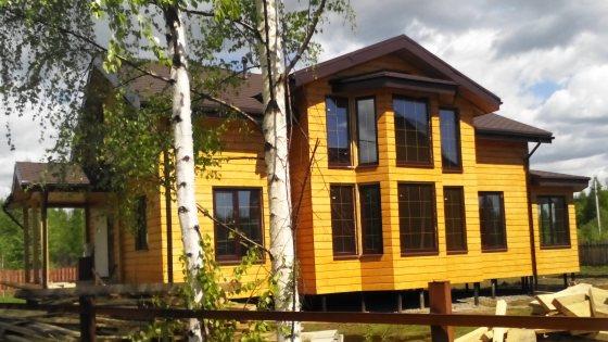 Загородное строительство каркасного дома - Финская деревня