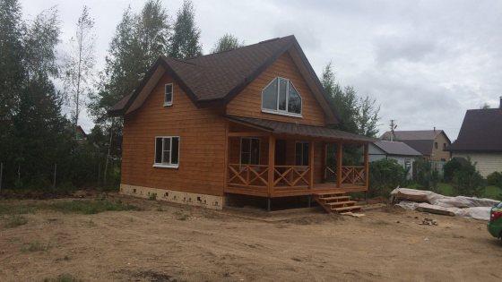 Строительство каркасного дома в Заозерье