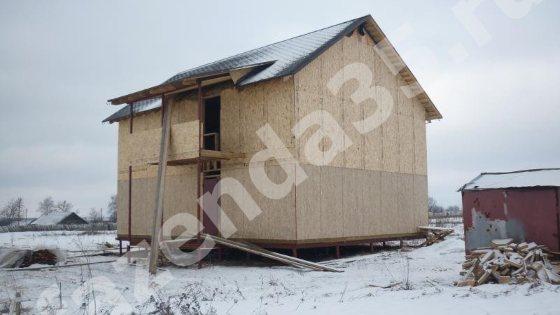 Фото каркасного дома бюджетный вариант
