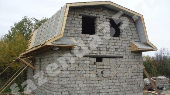 Дачный домик из арболитовых блоков в Череповце