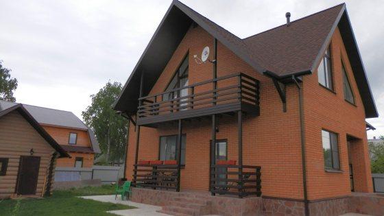 Возведение дома с мансардой из газобетонных блоков в Бабаево