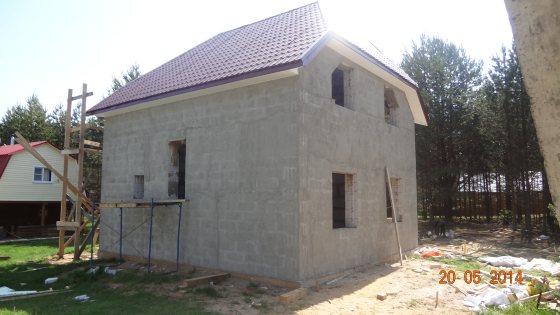 Дом из газоблоков в Устюженском районе