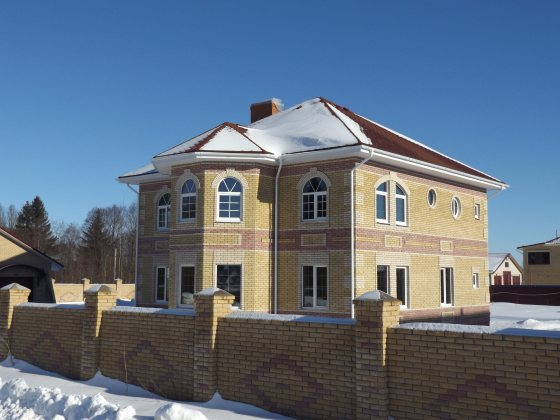 Строим частный дом из арболита 12 на 12 в Череповце