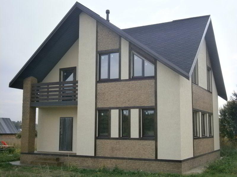 Строительство дома из газобетонных блоков в Череповце