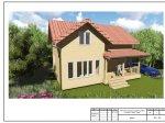 Каркасный дом построен по проекту «Викинг»