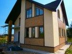 Строительство дома из газобетонных блоков деревня Борисово