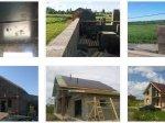Как строили дом из арболита