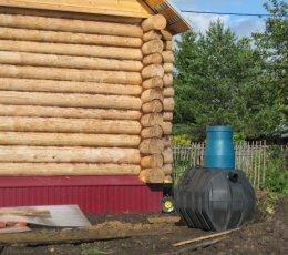 Установка септика Biofor от фундамента дома на расстоянии 3-х метров