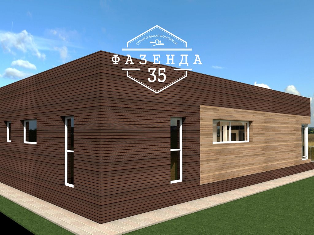 Проект одноэтажного дома из газобетона 10х20 площадью 172 кв. м - фото 2