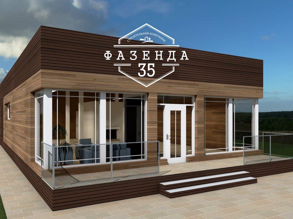 Проект одноэтажного дома из газобетона 10х20 площадью 172 кв. м