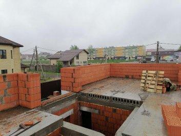 Кладка стен дома из керамоблоков фото 5