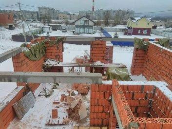 Кладка стен дома из керамоблоков фото 2