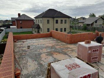 Кладка стен дома из керамоблоков фото 4
