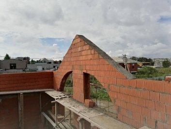 Кладка стен дома из керамоблоков фото 11