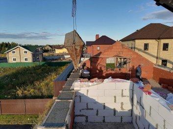 Кладка стен дома из керамоблоков фото 14