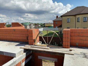 Кладка стен дома из керамоблоков фото 8