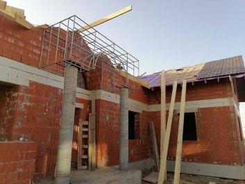 Кладка стен дома из керамоблоков фото 15